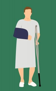 איש פצועה